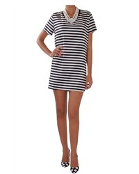 Classic striped t shirt dress medium 458028