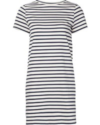 MiH Jeans Striped T Shirt Dress