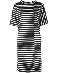 Sofie D'hoore Striped Oversized T Shirt Dress