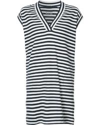 ATM Anthony Thomas Melillo Striped T Shirt Dress
