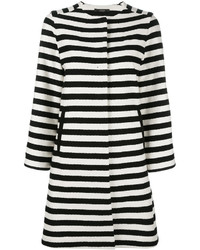 Odeeh Horizontal Stripe Coat