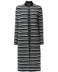 Striped cardi coat medium 3649582