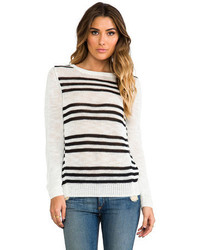 360 Sweater Astra Stripe Sweater