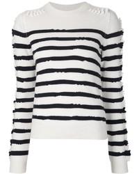 Barrie Textured Stripe Jumper