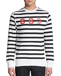Billionaire boys club bee bee see striped sweater medium 274999