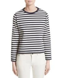 Christina stripe cotton sweater medium 6717187