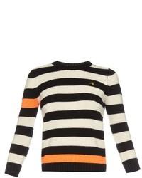 Bella Freud Cortina Contrast Stripes Cashmere Sweater