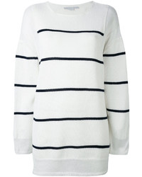 Deconstructed striped sweater medium 6717163