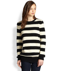 Demy Lee Demylee Ava Striped Sweater