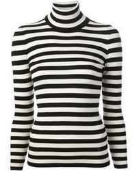 Gucci Striped Roll Neck Sweater