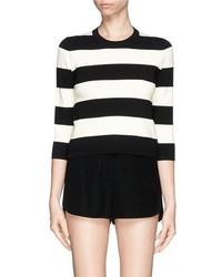 Nobrand Harmona S Striped Knit Sweater