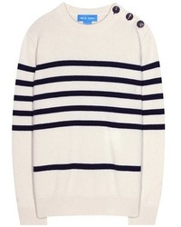 MiH Jeans Mih Jeans Striped Cashmere Sweater