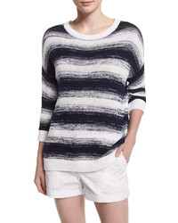 Vince Ombre Striped Pullover Sweater