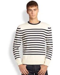 Mens White And Black Sweaters By Rag And Bone Mens Fashion