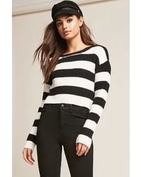 Forever 21 Ribbed Striped Sweater