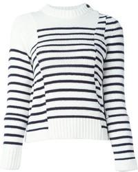 Sacai Striped Sweater