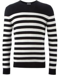 Saint laurent striped sweater medium 396289