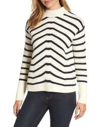 Stripe fisherman sweater medium 6717188