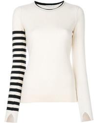 Sonia Rykiel Stripe Sleeve Jumper