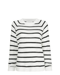 Bassike Striped Marine Jumper
