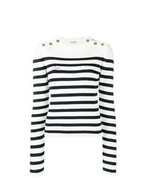 Miu Miu Striped Rib Jumper