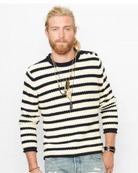 Denim & Supply Ralph Lauren Striped Roll Neck Sweater