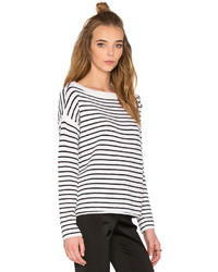ATM Anthony Thomas Melillo Striped Sailor Sweater