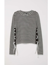 H&M Sweater With Lacing