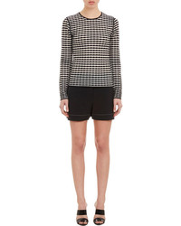 Alexander Wang Textured Stripe Pullover Sweater