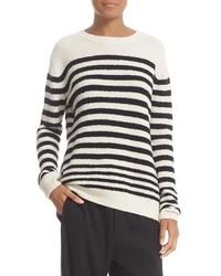 Vince Engineered Stripe Wool Blend Pullover