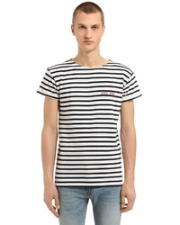 Bad boy striped jersey t shirt medium 6457773