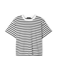 ATM Anthony Thomas Melillo Boy Striped Cotton Jersey T Shirt