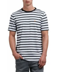 Briggs stripe crewneck t shirt medium 6982668