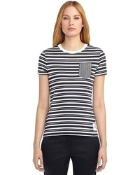 Brooks Brothers Stripe Tee Shirt