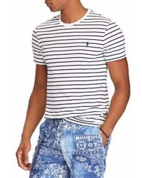 Polo Ralph Lauren Classic Fit Striped Cotton Tee
