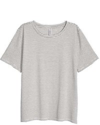 H&M Cotton Blend T Shirt