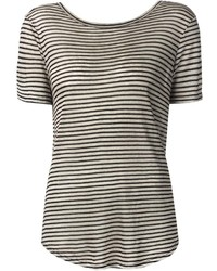 Enza Costa Striped T Shirt