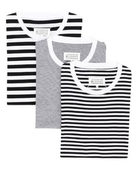 Maison Margiela Horizontal Striped T Shirt