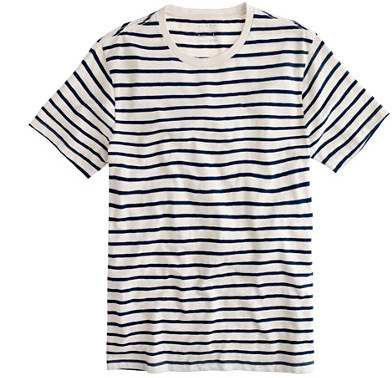 J.Crew Slub Cotton Deck Striped T Shirt | Where to buy & how to wear
