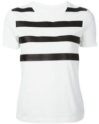 Mm6 Maison Margiela Sparkle Stripe T Shirt