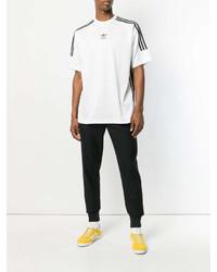 b08330e5c8 ... adidas Originals 3 Stripes Jacquard Jersey T Shirt