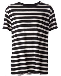 R 13 R13 Horizontal Stripe T Shirt