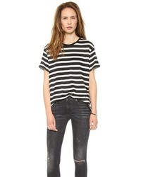 R13 boy striped tee medium 68984