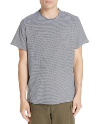 Ovadia & Sons Raw Edge Stripe T Shirt