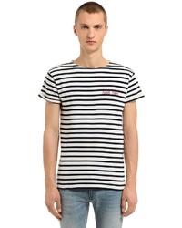 Rebel rebel striped jersey t shirt medium 6457774