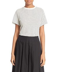 Relaxed stripe tee medium 1159317