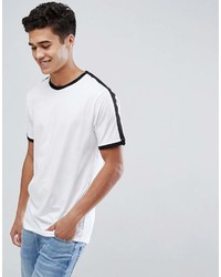 ONLY & SONS Ringer T Shirt With Arm Stripe