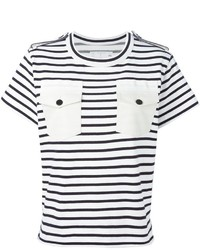 Sacai Striped T Shirt