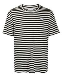 Societe Anonyme Socit Anonyme Striped Cotton T Shirt