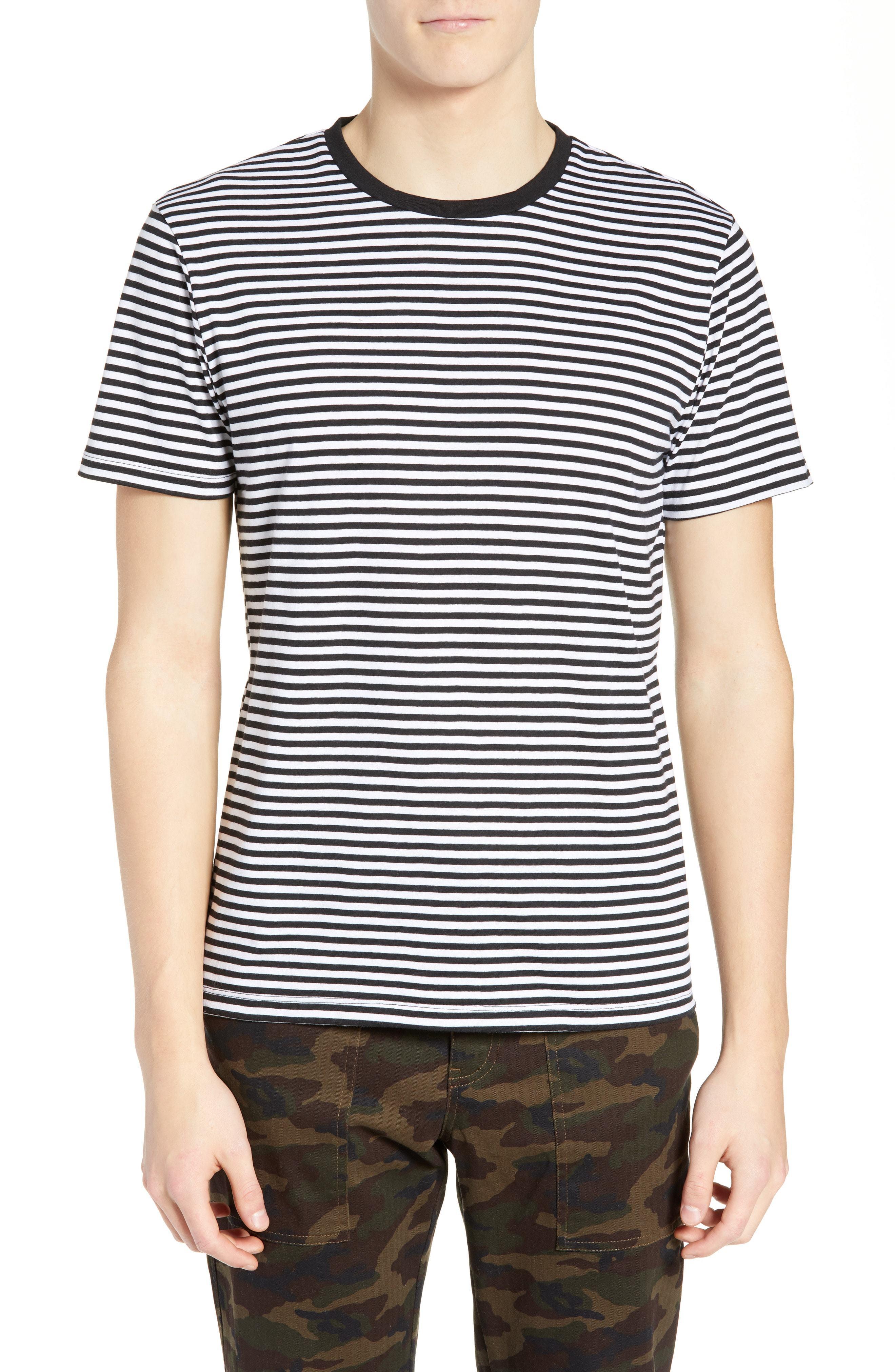 The Rail Stripe Crewneck T Shirt